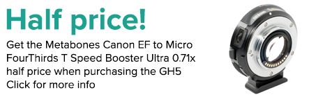Panasonic GH5 B2S Metabones
