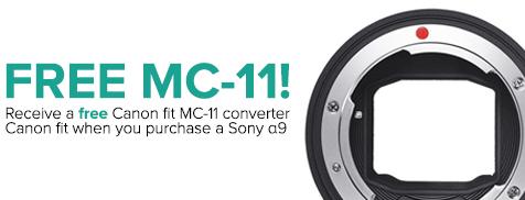 Sony a9 and FREE MC-11 Converter Bundle