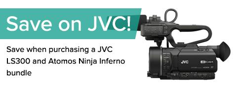 JVC GY-LS3000CHE & Ninja Inferno Bundle