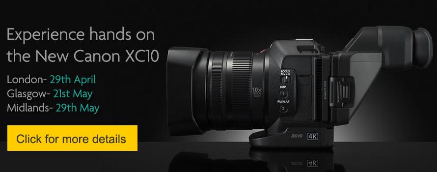 Canon XC10 Event