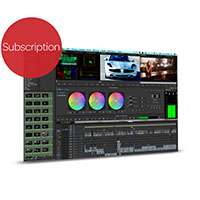 Media Composer 8 | Software Crossgrade Subscription - for existing v6.5 and later users - conversion to annual subscription licence - includes MC v8, Symphony option, support and upgrades - first year