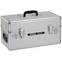 Nikon (JAE91501) CT-F1 Aluminum trunk case for lenses, camera bodys, speedlights and other photographic equipment (internal dimensions: 15.7 x 8.3 x 8.7 inches)