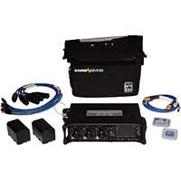 Sound Devices 633 KIT (633KIT) Kit including 1x 633 Mixer, 1x CS-633 Bag by PortaBrace, 3x XL-2F Cables, 2x XL-2 Cables, 1x XL-LB2 Timecode Cable,2x XL-B2 Batteries and 1x SD Approved 16Gb CF Card