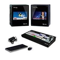 NewTek LSSMiniHD4i3PMP Live Sports Mini HD-4i Solution Multi-Standard Bundle with TriCaster Mini HD-4i, TriCaster Mini CS and 3Play Mini (LSSMiniHD4i3PMP)