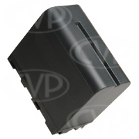 PowerLok CGA-D54s Type high capacity (5400mAh) Li-Ion battery compatible with Panasonic DVX100 and HVX200E camcorders