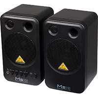 Behringer MS16 (MS-16) 16watt High Performance Active Personal Monitor Speakers (Frequency Response 80 Hz to 20 kHz)