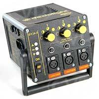Dedolight DT24-3 (DT243) universal voltage transformer for 3 x 24v / 150W dedolight