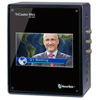 Newtek Tricaster Mini HD-4 SDI with Integrated Display and 2x Internal 750GB Drives (30 Hours of 1080i Storage)