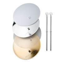 Elinchrom EL26310 14cm Deflector Set - Gold Silver, Frost, Translucent (EL-26310)