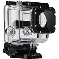 GoPro Dive Housing compatible with the HERO4+, HERO4, HERO3+ and HERO3 cameras waterproof up to 60 meters (AHDEH-301)