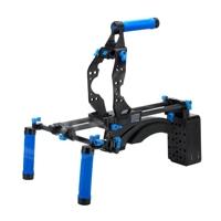 Redrock Micro ultraCage | blue Field Bundle Shouldermount for Canon EOS C100 Camera (p/n 8-129-0002)