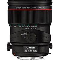 Canon TS-E 24mm F3.5L II Tilt and Shift L Series Wide Angle Lens (Canon p/n 3552B005AA)