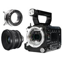 Sony PMW-F5/WIDE (PMWF5WIDE ) Super 35mm Full HD 4K CMOS Sensor CineAlta Camcorder with the SCL-P11X15 11-15mm / T3.0 Wide Angle Zoom PL Mount Lens - Package Deal