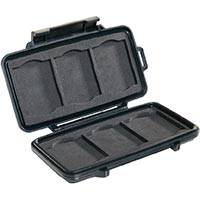 Peli Products 0945 Memory Card Case - Fits 6 Compact Flash / Microdrive Cards (Internal Dimensions: 12.2cm x 5.7 x 1.4cm)