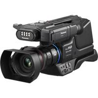 Panasonic HC-MDH3E (PAN-HCMDH3E) Shoulder-style Full-HD Camcorder with Built-in LED Light and Large 1/3.1-inch MOS Sensor