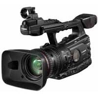 Canon XF305 (XF-305) HD Camcorder - MPEG-2, 50Mbps, 4:2:2 codec, L-series lens, 3 Full HD CMOS sensors and studio connectivity (4455B006AA)