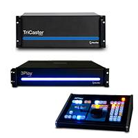NewTek Live Sports 8000 Solution Multi-Standard with TriCaster 8000 MS, 3Play 440 MS and Control Surface (LSS8000-3P440MS)