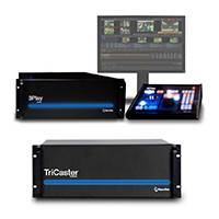 NewTek Live Sports 8000 Solution Advanced with TriCaster 8000 MS, 3Play 4800 MS and Control Surface (LSS8000-3PL4800MS)