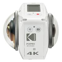 Kodak PIXPRO VR 360 Degree 4K Digital Camera NFC WiFi - White (p/n DVC-4KVR360-WH-EU-1)