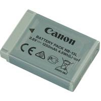 Canon NB-13L (NB13L) Lithium-Ion Battery Pack for the Powershot G7X Camera (Canon p/n 9839B001AA)