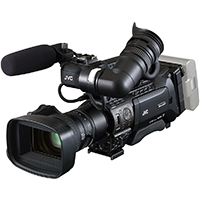 JVC GY-HM890 (GYHM890) Full HD Shoulder Mount Camcorder with 3x 1/3 CMOS Sensors and Fujinon Interchangeable Zoom Lens