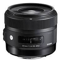 Sigma (301955) 30mm f/1.4 A Series Standard Lens for Nikon DX format DSLRs (NAF)