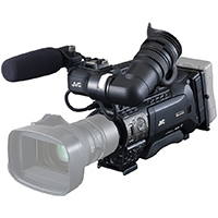 JVC GY-HM850CHE (GYHM850/CHE) Full HD Shoulder-Mount ENG Camcorder with 3x 1/3inch CMOS Sensors, 50Mbps Recording, Advanced Networking, ENG Form Factoring (Body Only)