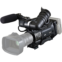 JVC GY-HM890CHE (GYHM890/CHE) Full HD Shoulder-Mount ENG/Studio Camcorder with 3x 1/3 CMOS Sensors, 50Mbps Recording - Body Only)