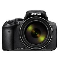 Nikon Coolpix P900 16 Megapixel Digital Bridge Camera - Black (p/n VNA750E1)