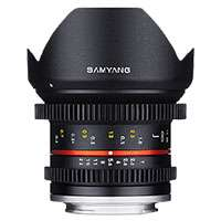 Samyang 12mm T2.2R NCS CS Wide Angle Cine Lens for Mirrorless cameras - Samsung NX (7794)