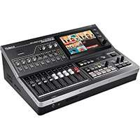 Roland VR-50HD (VR50HD) All-in-one HD Multi Format AV Mixer with Built in USB 3.0 Output for Web Streaming and Recording