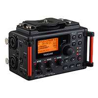 Tascam DR-60D MkII (DR60DMk2) Professional 4 Track Linear PCM Recorder / XLR Input Adaptor for DSLR Cameras and Camcorders