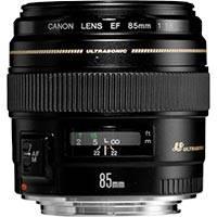 Canon EF 85mm f/1.8 USM Medium Telephoto Lens (p/n 2519A012AA)