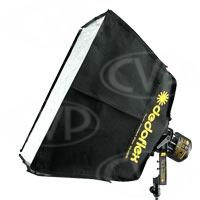 Dedolight Dedoflex DSBSXS 30x30cm Mini Silver Softbox Kit for Dedolight DLH4 - Excludes mounting ring (DSB-SXS)