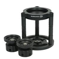 Slide Kamera AF-15 High Hat Bowl Riser for Half Ball Tripod Head - Available with 75mm, 100mm, 75/100mm or 150mm Adapter