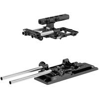 ARRI K0.0010054 (KK.0010059) Basic Cine Set for RED DSMC2 with Cine Plate, Support Rods, Bridge Plate Sled, Top Plate, Top Handle and Monitor Bracket