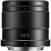 Panasonic (H-HS043E-K) Lumix 42.5mm f/1.7 Lens - Black