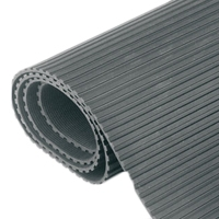 Canford Audio 39-388 (39388) Rubber Matting Flat Fluted -1200mm wide + 3mm thick (SOLD PER METER)