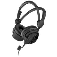 Sennheiser HD 26 PRO (HD26PRO) Studio Monitoring Headphones - 100 ohms Impedance, 3.5mm Jack with 6.3mm Adapter