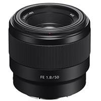 Sony SEL50F18F (SEL-50F18F) FE Full Frame 50mm F1.8 Professional E-Mount Prime Lens (SEL50F18F.SYX)