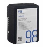 Bebob V98micro (V98micro) V-Mount Lithium-Ion Battery - 14.4V / 6.8Ah
