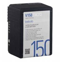Bebob V150micro (V150micro) V-Mount Lithium-Ion Battery - 14.4V / 10.2Ah