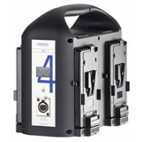 Bebob VS4 (VS4) 4-Channel V-Mount Simultaneous Charger - 75W DC-Out