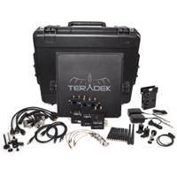 Teradek TER-BOLT-995-2G (TERBOLT9952G) Teradek Bolt Pro 3000 HD-SDI / HDMI Wireless Video Transmitter and 2x Receiver Deluxe Kit with Gold Mount