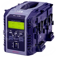 IDX VL-4Si (VL4Si) 4-Channel Simultaneous V-Mount Multi-Chemistry Fast Charger with Intelligent Display