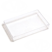Dedolight DLBOX (DL-BOX) clear plastic box for carrying dedolight bulbs etc...