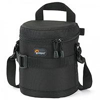 Lowepro LP36304-0EU (LP363040EU) Lens Case 11 x 11cm for wide angle zoom lens- Black (Internal Dimensions: 11 x 11 x 11 cm)