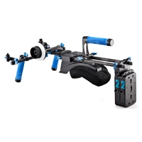 Redrock Micro Field Cinema Bundle Shouldermount Rig with lowBase for Tall-Bodied Cameras (p/n 8-125-0006)