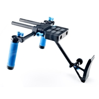 Redrock Micro theEvent Bundle with lowBase for Tall-Bodied Cameras (p/n 8-125-0001)