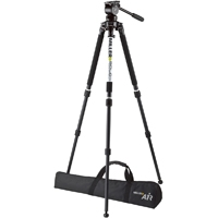 Miller (3005) Air Tripod System Includes Fluid Head (1042) Solo DV 2-Stage Carbon Fibre Tripod (1501) Pan Handle (680) Air Softcase